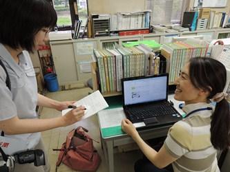 神戸新聞 取材 ~いたみびょういんブログについて~