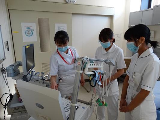 2年目看護師ローテーション研修(ICU見学)