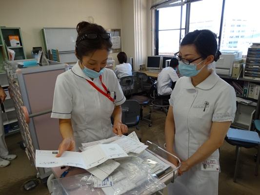 2年目看護師ローテーション研修(5階東病棟)
