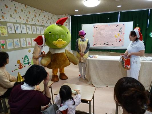 小児病科棟クリスマス会2013