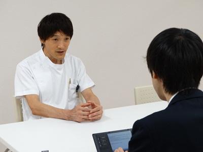 中井DRの取材20140903