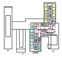 3階フロア案内図