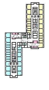 4~6階案内図